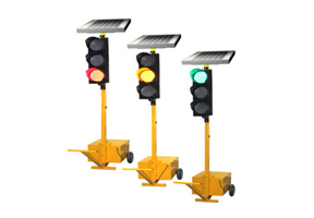 Portable traffic signal controller