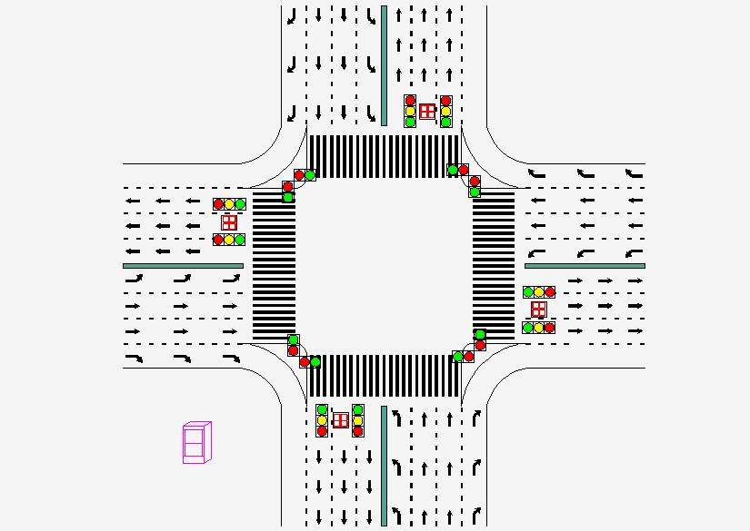 traffic signal project led traffic light