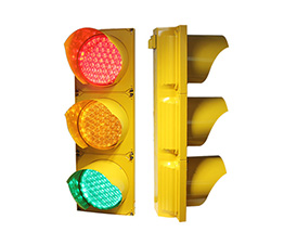 LED intelligent traffic signal light